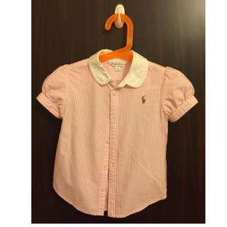 Ralph Lauren Girls Oxford Shirt