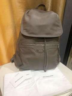 Balenciaga holiday backpack calf leather