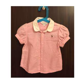 Polo Ralph Lauren Girls Oxford Shirt