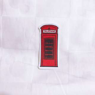 London Telephone Booth sticker