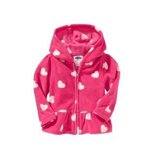 Old Navy Patterned Micro Performance Fleece Jackets for Kids (Winter Wear)