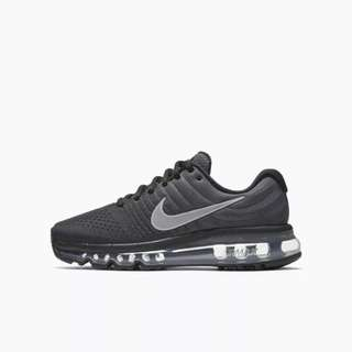 Ombre Black-Grey Nike Air Max 2017