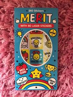 240 Mini Stickers <Merit>