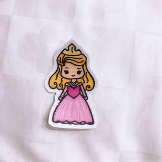 Disney Aurora sticker