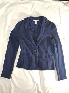 BANANA REPUBLIC - Navy Blue Blazer