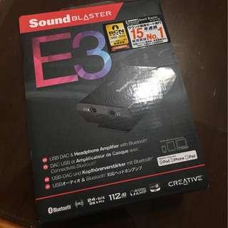 Sound Blaster E3 攜帶式藍芽耳機擴大器