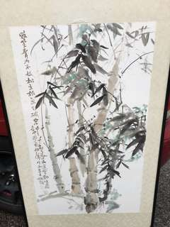 Bamboo chinese painting