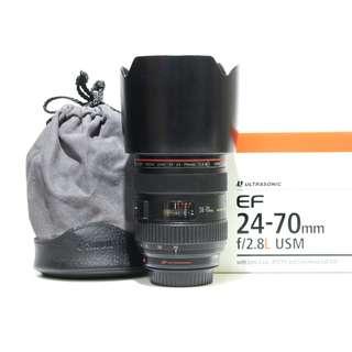 Canon EF 24-70mm f2.8L USM Lens