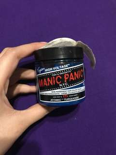 Manic Panic Atomic Turquoise Original (SALE 100rb)