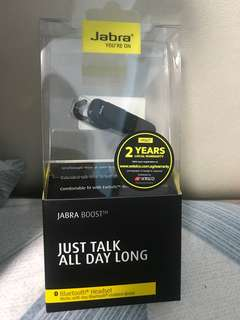 Jabra Boost Black Bluetooth Headset