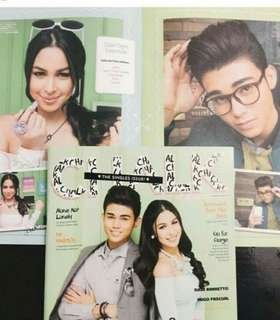 Chalk magazine Julia and Inigo