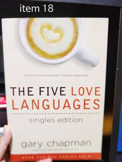 Gary chapman five love languages singles edition