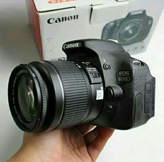 CANON EOS 600D (REBEL T3i/kiss X5)KIT
