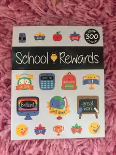 300 Mini Stickers <School Rewards>