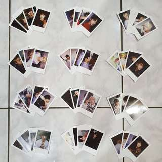Official Seventeen Diamond Edge Individual / Unit Photocard Set