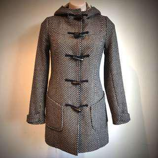 Vintage Style Hooded Coat