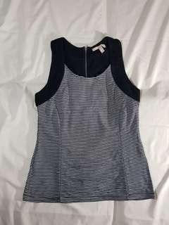 BANANA REPUBLIC - Striped Sleeveless top