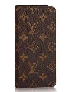 Louis Vuitton IPHONE 7 PLUS & 8 PLUS FOLIO Authentic