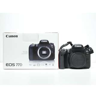 Canon EOS 77D DSLR Body Only (Low Shutter Count) (Warranty until Sept 2020)
