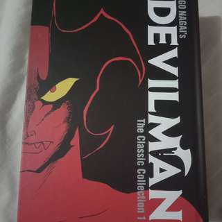 devilman classic collection manga
