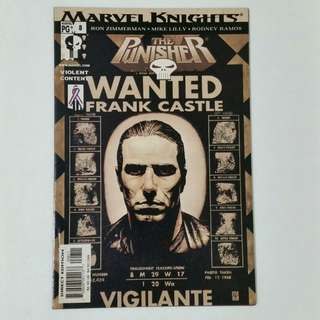 Punisher No.8 Comic