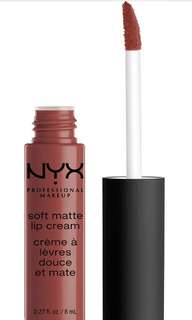 nyx matte lipstain in san fransisco