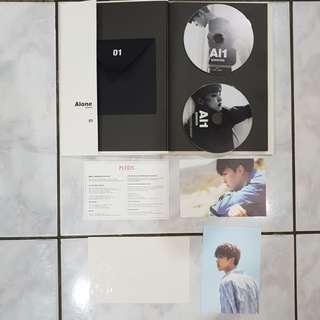 Preloved Seventeen Official Album AL1 Alone Version
