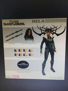 預訂1月 Mezco Marvel One:12 Collective Ragnarok Hela