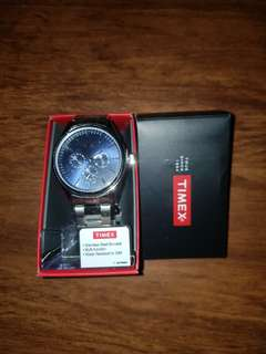 Timex Men Blue Dial Stainless Steel Watch (TW2P96900)