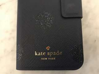 Kate Spade寶藍色Iphone7 Case/手機殼/手機套/Cover