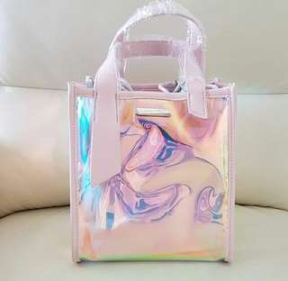 NEW  COLLECTION C & K HOLO TOTEBAG