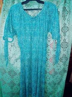 Pre loved Blue dress.