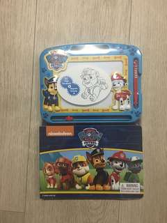 Paw Patrol Storybook and Magnetic Drawing Kit