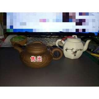 泡茶壺(白色)
