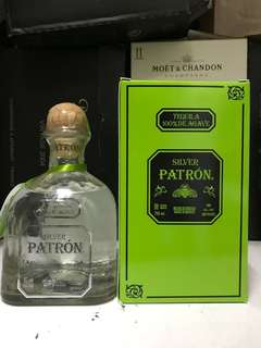 Patron silver Tequila 750ml /with box