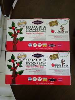 Apple Tree Breast Milk Storage (187 pieces)