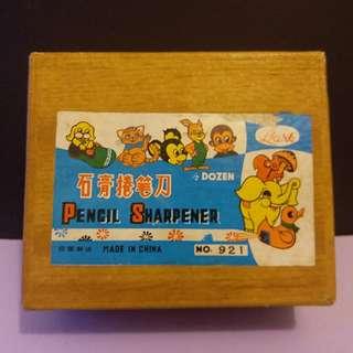 70'年代石膏鉛筆刨一盒