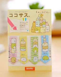 🚚 SUMIKKO GURASHI MINI POST ITS / STICKY MEMO PAD / STICK MARKER  @ $1.50 PER PAD ONLY!!! READY STOCKS! LIMITED SETS LEFT!!!