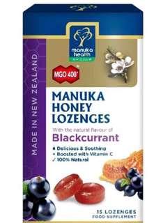 Manuka Health Lozenges mgo 400+