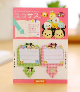 🚚 TSUM TSUM MINI POST ITS / STICKY MEMO PAD / STICK MARKER @ @ $1.50 PER PAD ONLY!!! READY STOCKS! LIMITED SETS LEFT!!!