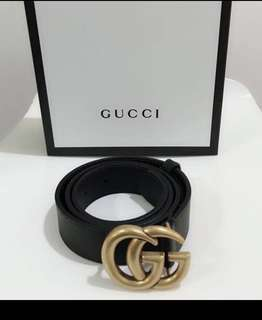 👱‍♂️👱‍♀️ Restock!! Authentic GUCCI GG LOGO Belt