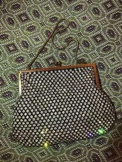 購自英國VINTAGE 非一般鑚石袋 每一粒都是手抓石 手工非常靚