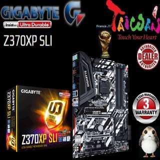 "Gigabyte Z370XP SLI.., "" 3 Years Warranty "" + Bundle Together with Intel LGA1151 Coffee Lake CPU..., Type of CPU price shown below..."