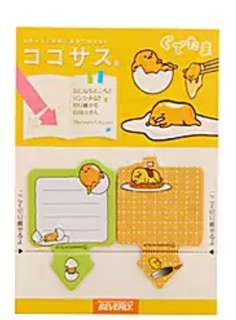 🚚 GUDETAMA MINI POST ITS / STICKY MEMO PAD / STICK MARKER @  @ $1.50 PER PAD ONLY!!! READY STOCKS! LIMITED SETS LEFT!!!