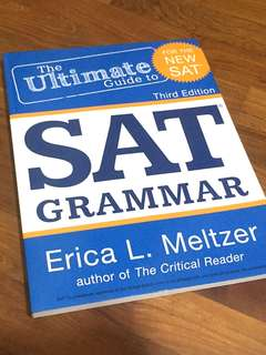 [Brand New] SAT Grammer Guide, 3rd Edition
