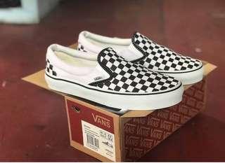 VANS SLIP ON Checkerboard classic