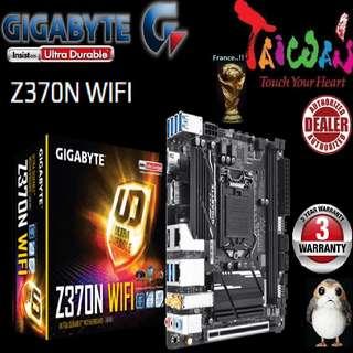"Gigabyte Z370N WIFI..,  "" 3 Years Warranty "" + Bundle Together with Intel LGA1151 Coffee Lake CPU..., Type of CPU price shown below..."