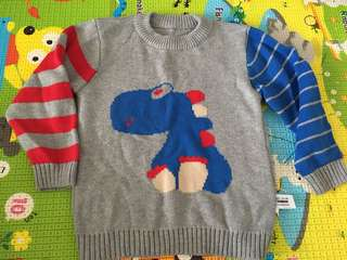 Thick winter sweater -2t