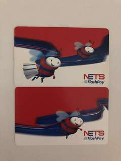 Nets FlashPay Collectable Card x 2