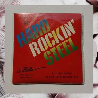 Hard Rockin steel guitar string